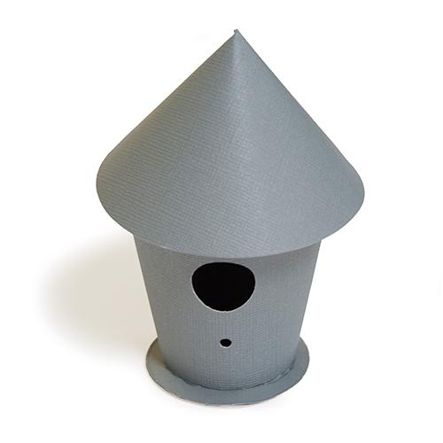 SR-019/Spellbinders/スペルバインダーズ/ダイ(抜型)/Contour Birdhouse Steel Rule Die バードハウス 【メール便不可】