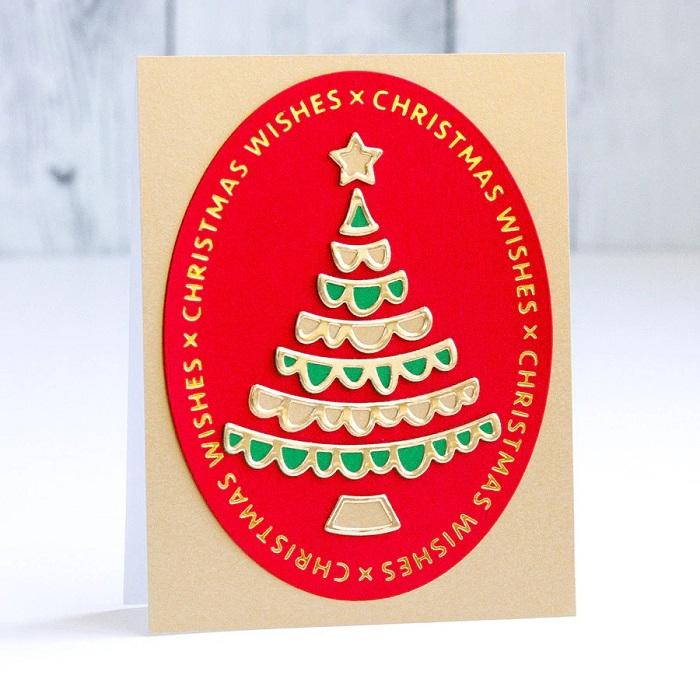 【S3-399】/スペルバインダーズ/ダイ(抜型)/ クリスマス ツリー 木