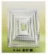 訳あり商品 数量限定限り!!484E/Tonic Studios/トニック・スタジオ/ダイ(抜型)/Rectangle Nesting レクタングル レイヤー