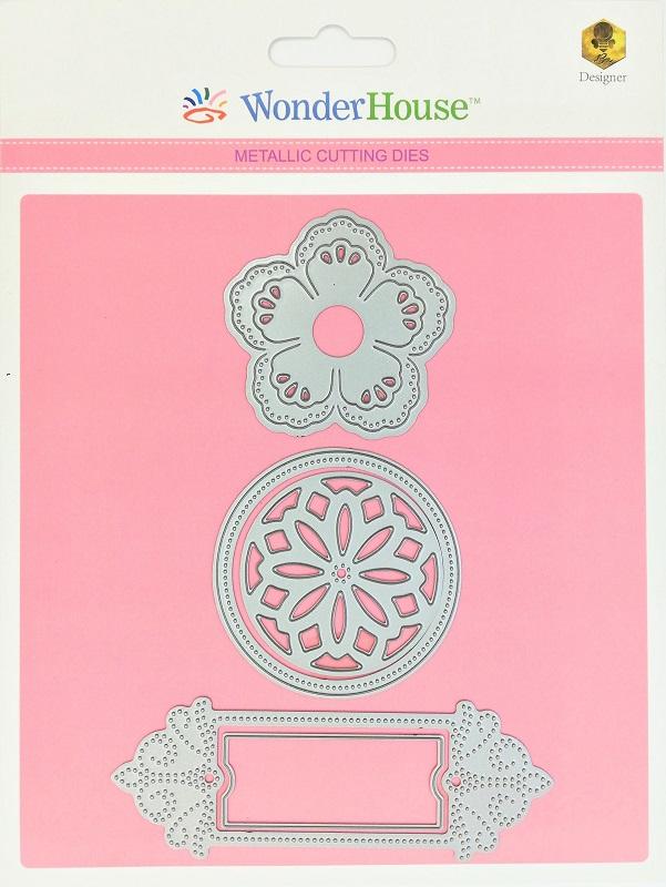 263/WonderHouse/ワンダーハウス/ダイ(抜型)/花 レース flower