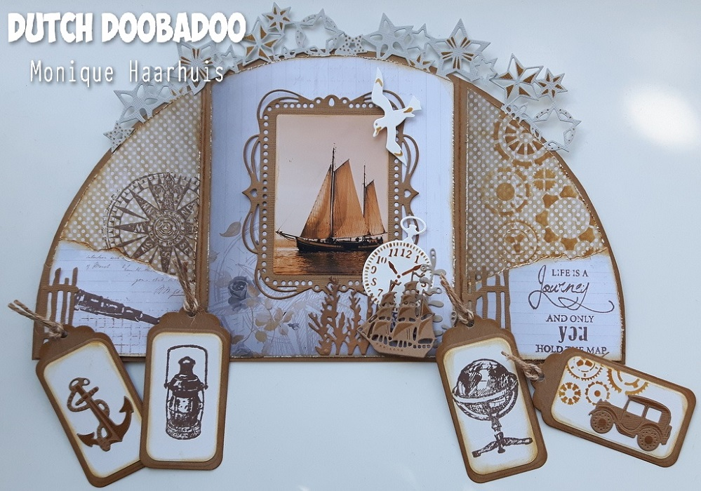 6002-0781/Joy! Crafts/ジョイ・クラフツ/ダイ(抜型)/Journey Sailboat & Oldtimer ヨット 帆船 クラシックカー ビンテージカー