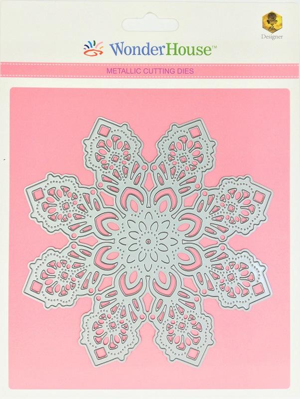 265/WonderHouse/ワンダーハウス/ダイ(抜型)/雪の結晶 レース