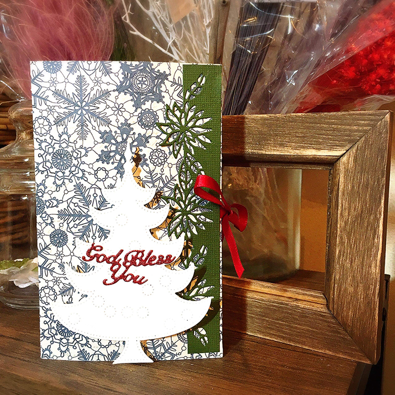 6002-2008/Joy! Crafts/ジョイ・クラフツ/ダイ(抜型)/Christmas Tree クリスマスツリー