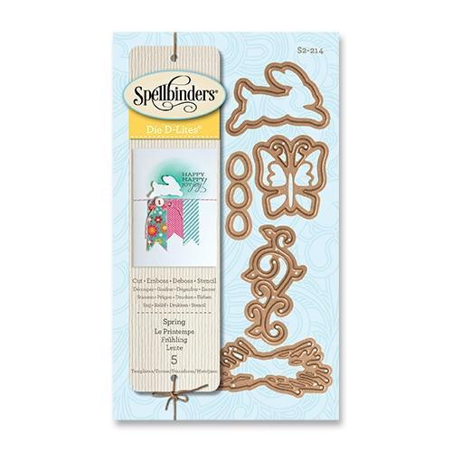 【S2-214】/スペルバインダーズ/ダイ(抜型)/ イースター兔と蝶々