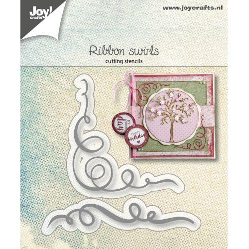 【6002-1295】ジョイ・クラフツ/ダイ(抜型)/Ribbon Swirls リボンスワール