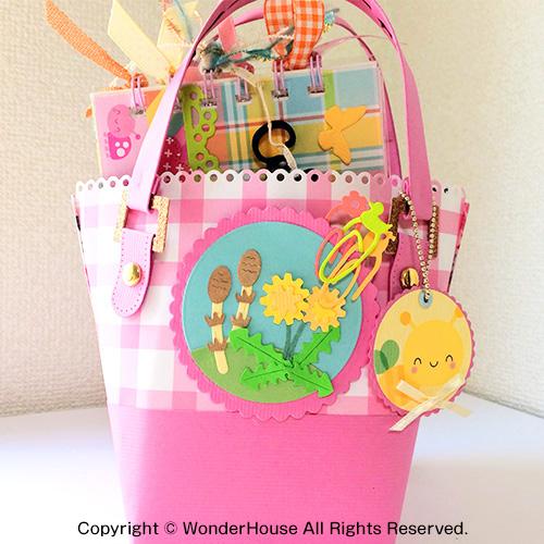 279/WonderHouse/ワンダーハウス/ダイ(抜型)/Bag トートバック