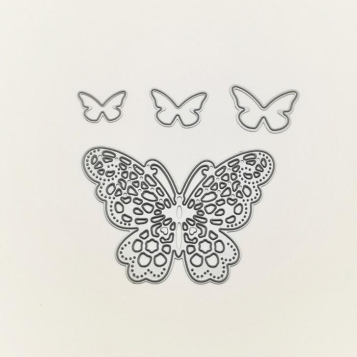 【394】/ワンダーハウス/ダイ(抜型)/蝶々