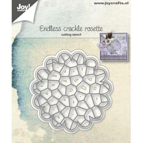 6002-1154/Joy! Crafts/ジョイ・クラフツ/ダイ(抜型)/Endless crackle rosette クラックル ロゼット