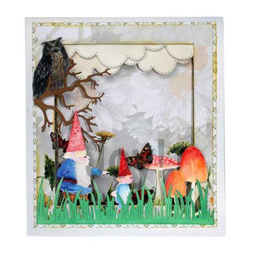 【6002-1372】/ジョイ・クラフツ/ダイ(抜型)/Gnome and son  こびとちちとむすこ 小人父と息子 コビトチチトムスコ