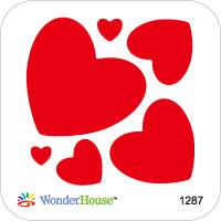 N57-134/WonderHouse/ワンダーハウス/ダイ(抜型)/heart ハート2 セット