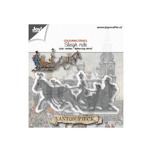 【6002-1379】/ジョイ・クラフツ/ダイ(抜型)/Horse with sled ソリーと馬
