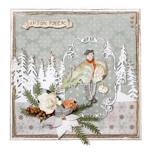 【6002-1381】/ジョイ・クラフツ/ダイ(抜型)/Boy with Christmastree  クリスマスツリーと男の子