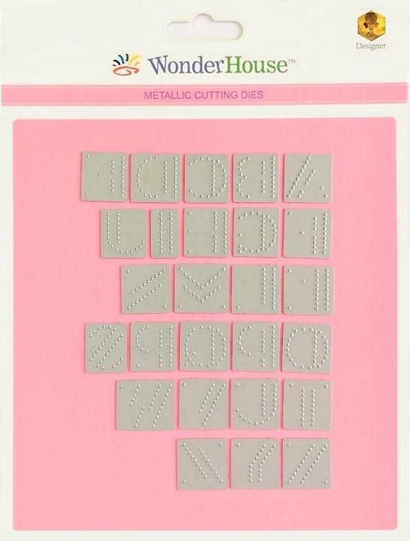 228/WonderHouse/ワンダーハウス/ダイ(抜型)/アルファベット