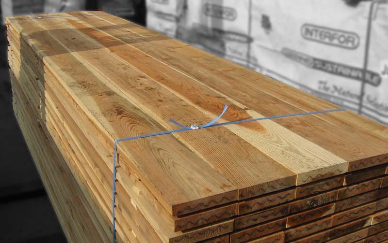 杉足場板 (両面波釘入り)  4M×35mm×200mm 【お引き取り商品】材質スギ