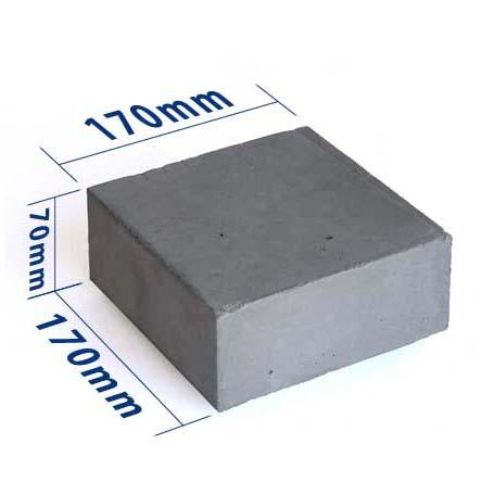 ウッドデッキ用オリジナル束石  170×170×70mm