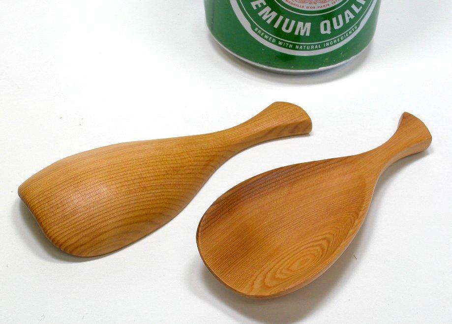【木製キッチン用品】【木の茶さじ】 茶さじ (1個)