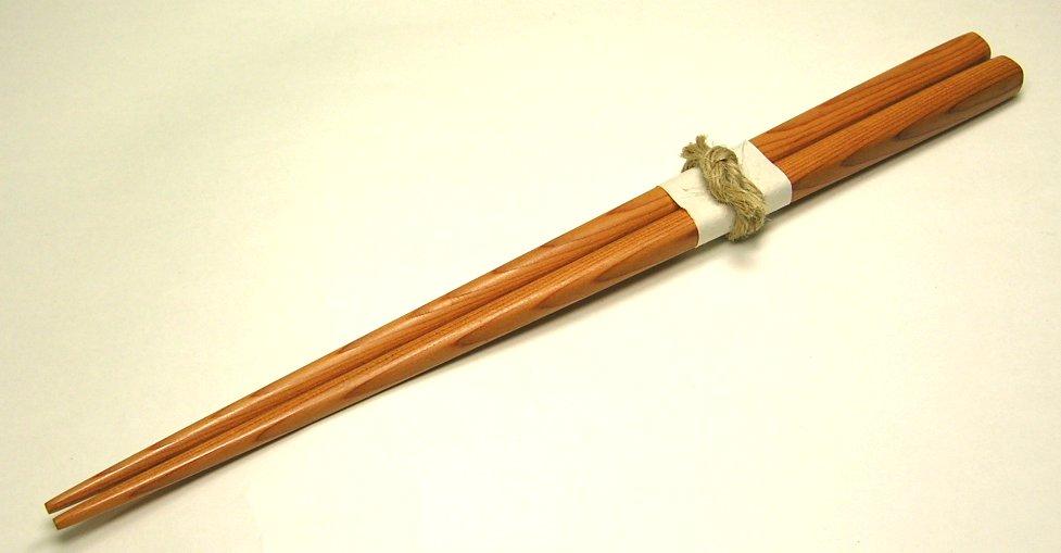 【木製キッチン用品】【木のお箸】 一膳箸