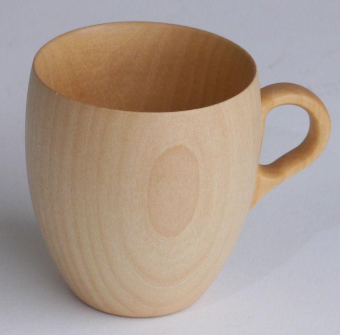 【木製キッチン用品】【木製マグ】 CARA マグカップM