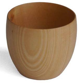 【木製キッチン用品】【木製湯飲み】 CARAコップ Sサイズ