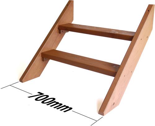 キッドデッキミニ専用階段  幅700mm