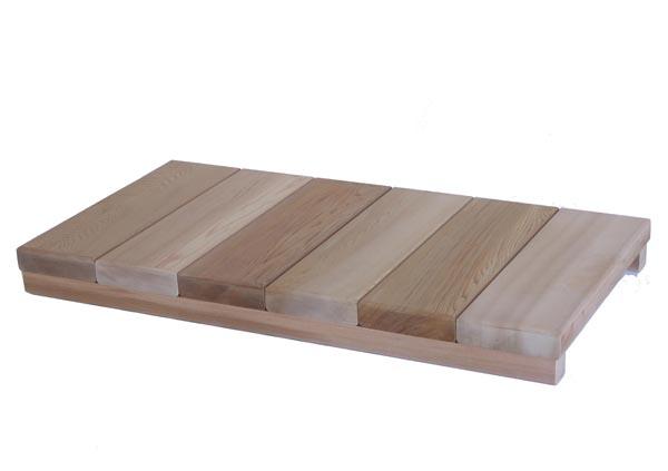 【木製玄関靴脱ぎ台】【日本製】 玄関用ステップ ロング