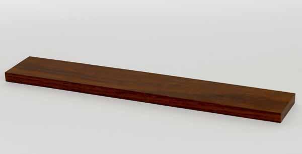 【木製雑貨】【木製置物】 起き上がり専用置台ロング