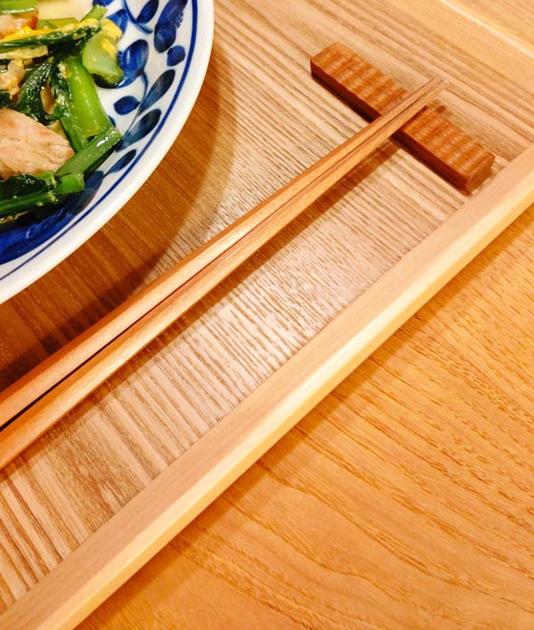 木製キッチン用品 木のはしおき