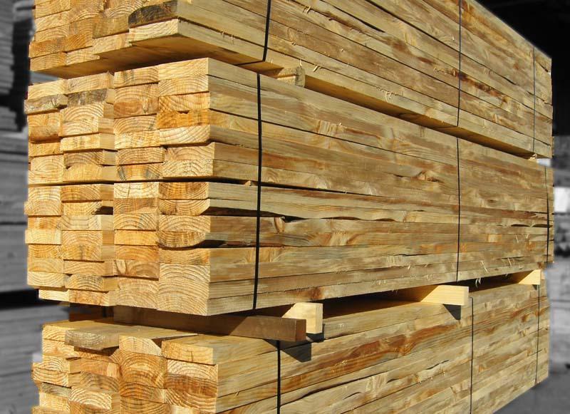 木矢板 4M×40mm×200mm  【お引き取り商品】 材質ラジアタパイン (ニュージー松)