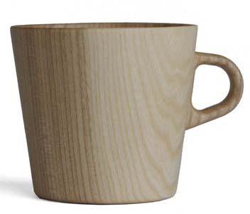 【木製キッチン用品】【木製マグ】 KAMI マグカップM