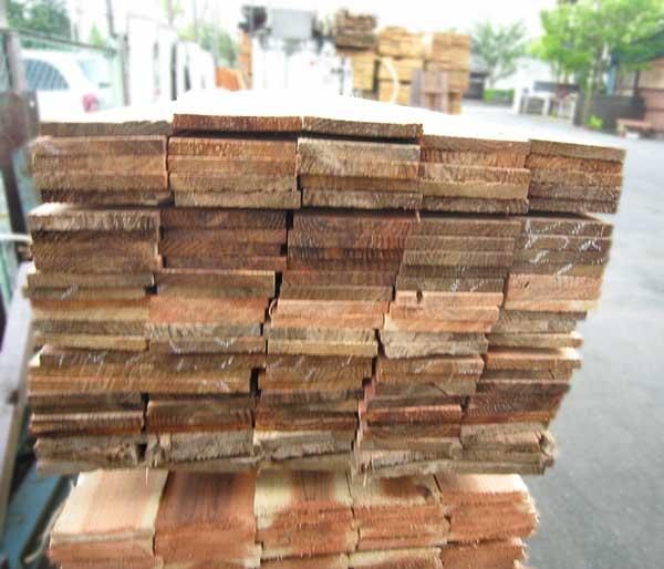 杉板 巾木用  4M×15mm×150mm  【お引き取り商品】 材質国産杉