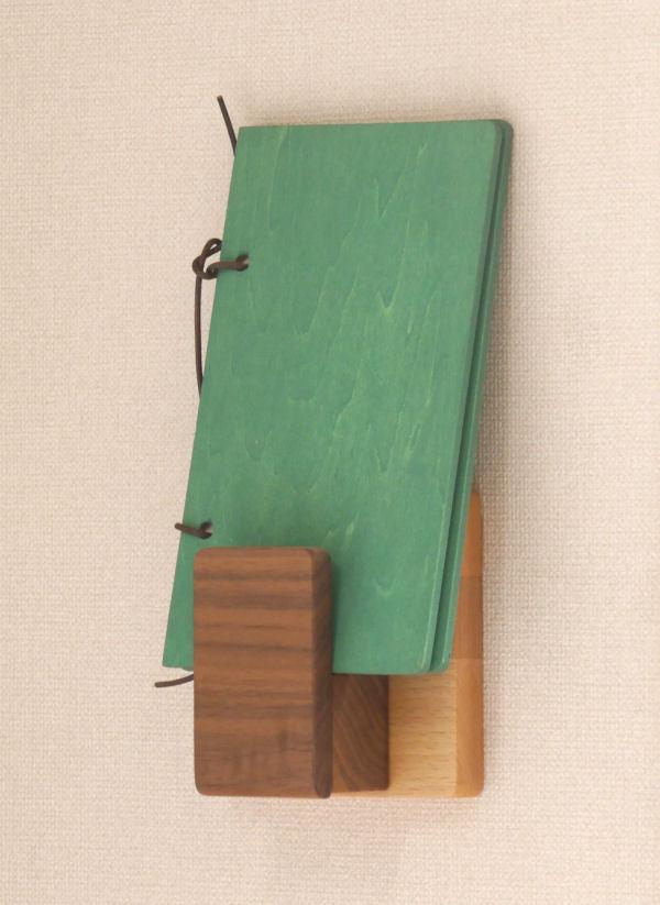 【木製雑貨】【木のホルダー】 ホルダー縦タイプ