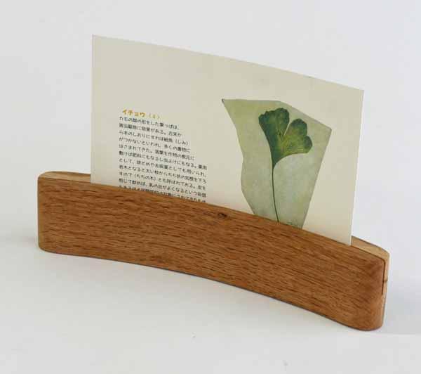 【木製雑貨】【木製写真立】 カードスタンド200・オーク