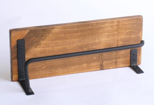 【木製雑貨】【木のペーパーホルダー】 オールドパインペーパーホルダーW