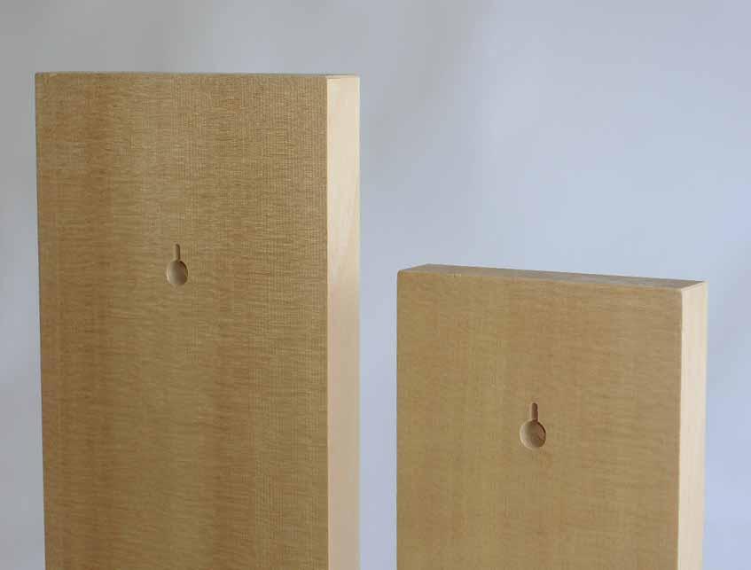 木の表札(小) 5枚1セット  縦380ミリ 幅114ミリ 厚み22ミリ 材質スプルース