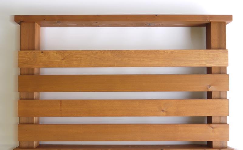 横ストライプ用羽目板90 0.9M 【キットデッキ専用手すり材質レッドシダー 日本製】