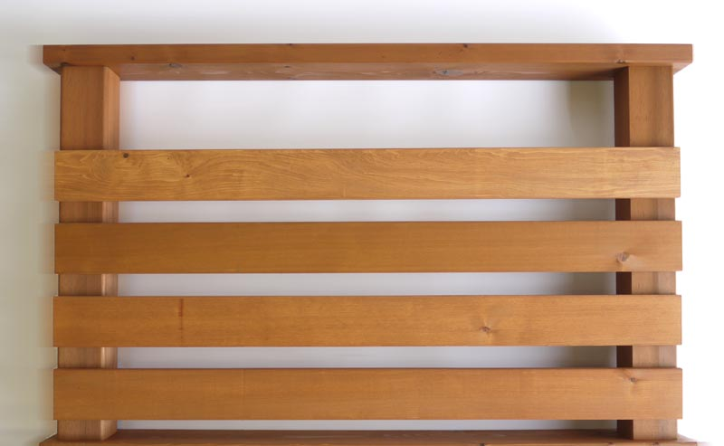 横ストライプ用羽目板90 2.1M 送料別途お見積商品 【キットデッキ専用手すり材質レッドシダー 日本製】