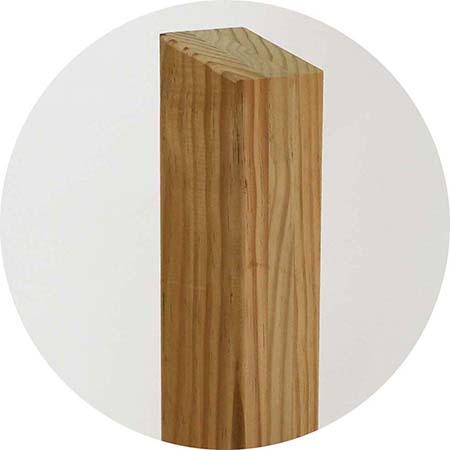 木製フリーフェンス1000・追加1スパン 取付け取外し簡単 アクセントフェンス 目隠しフリーフェンス 高耐久
