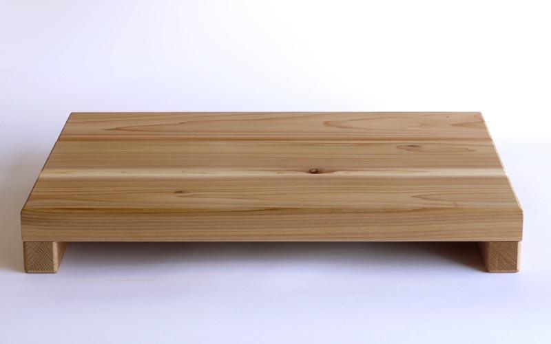 【木製玄関靴脱ぎ台】【日本製】 玄関用ステップ