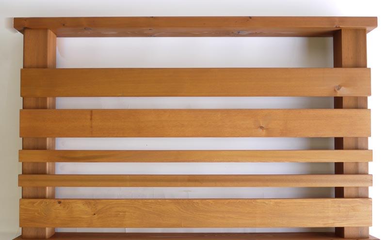 横ストライプ用羽目板90 2.5M 送料別途お見積商品 【キットデッキ専用手すり材質レッドシダー 日本製】