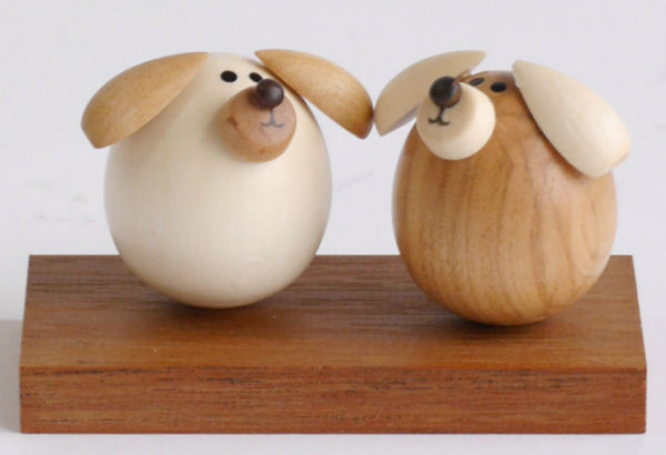 【木製雑貨】【木製置物】 起き上がり専用置台