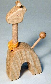 【木製雑貨】【木の指輪スタンド】 どうぶつリングスタンド