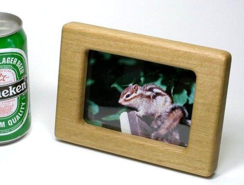 【木製雑貨】【木製フォトスタンド】 写真立 小