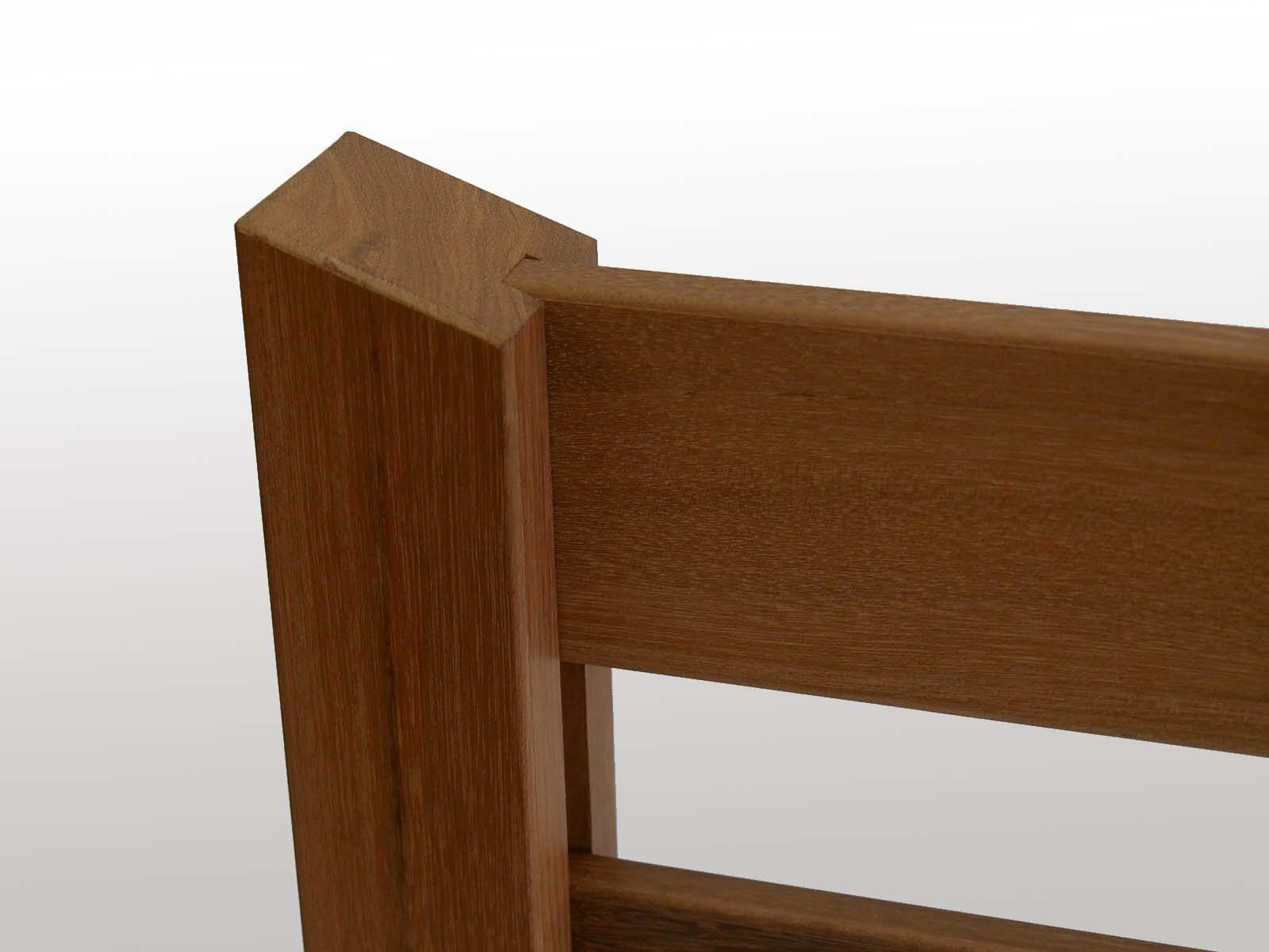 デッキ用手摺ウエスタンレッドシダー(独立タイプ) 簡単設置 後付け可能