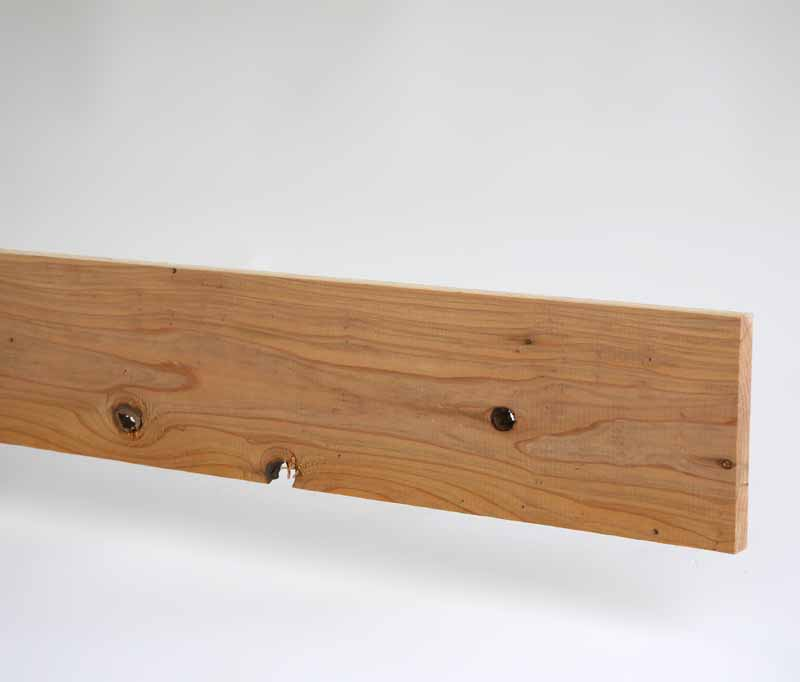 横板 2450×15×105mm送料別途お見積商品木製目隠しフェンス 日本製  国産杉