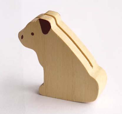 【木製雑貨】【木製カードスタンド】 ワンちゃんカードスタンド