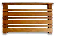 横板セット 1.4M【キットデッキ用手すり材質イタウバ/アマゾンジャラ 日本製】