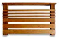 横板セット 1M  【キットデッキ用手すり材質イタウバ/アマゾンジャラ 日本製】