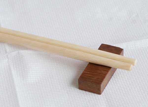 【木製キッチン用品】【木のはしおき】 はしおき6個1セット