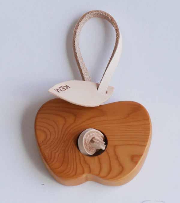 【木製雑貨】【木のホルダー】 りんご・洋ナシホルダー(セットではありません)
