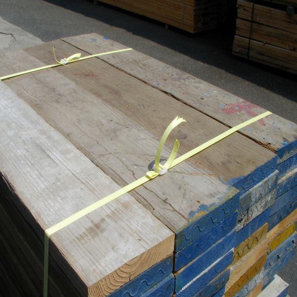 中古足場板ベーシックLLサイズ16枚1セット・送料別途お見積商品  約200mm×約35mm×長さ1900mm  材質 国産スギ